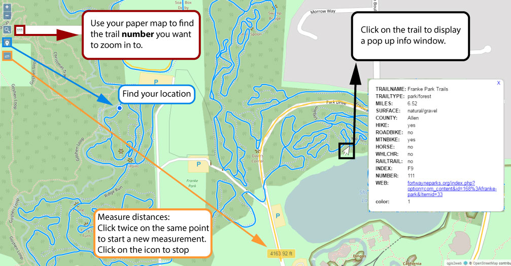 Digital Maps How To – Slow Foot Movement on